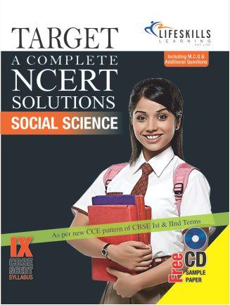 TARGET A COMPLETE NCERT SOLUTIONS  SOCIAL SCIENCE